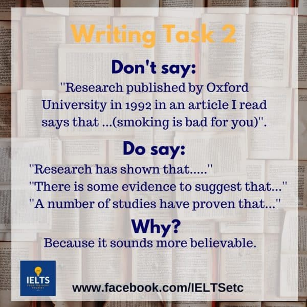 IELTS Writing Task 2 Preparation