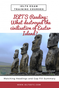 IELTS Reading What destroyed the civilisation of Easter Island
