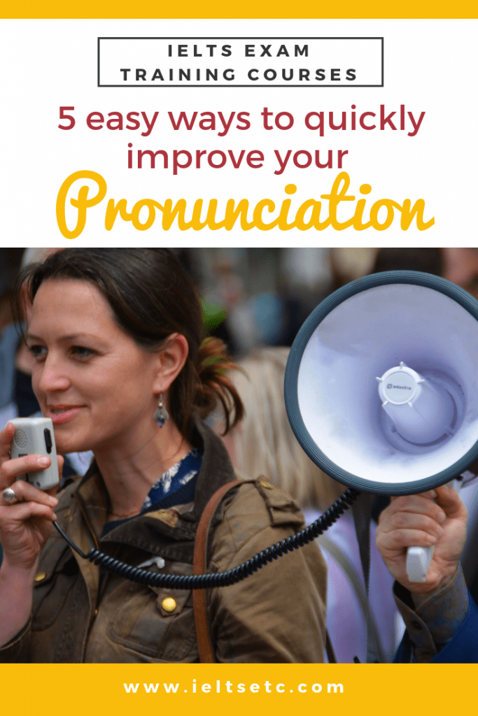 IELTS Speaking Pronunciation