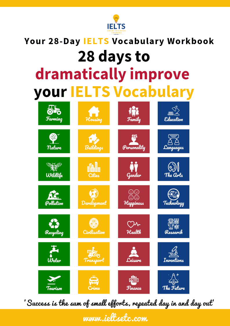 28 ways to improve your IELTS vocabulary
